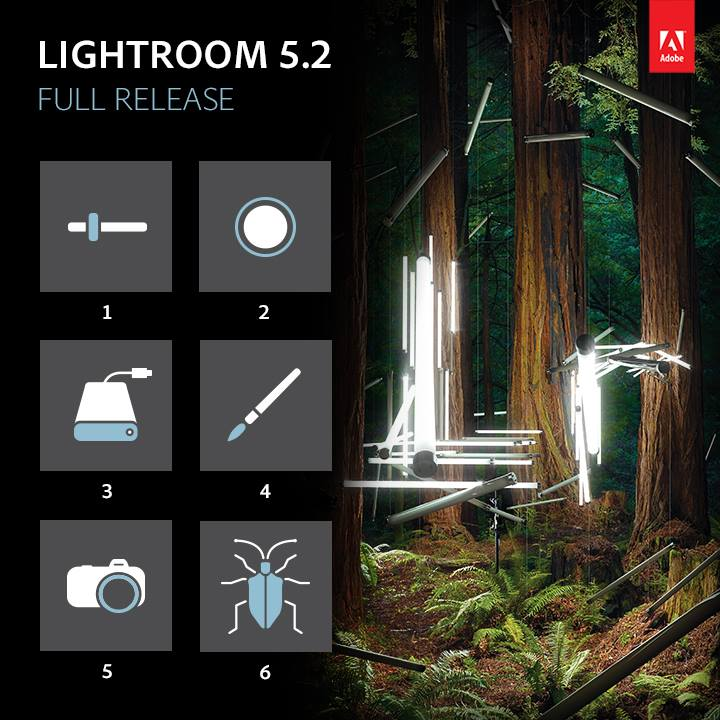 Lightroom 5.2 (Quelle: Adobe)